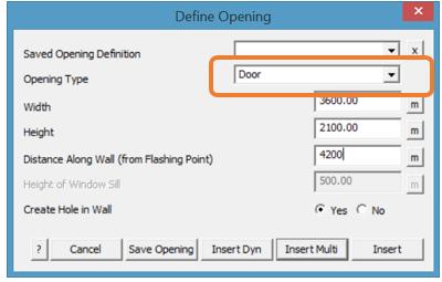 define opening
