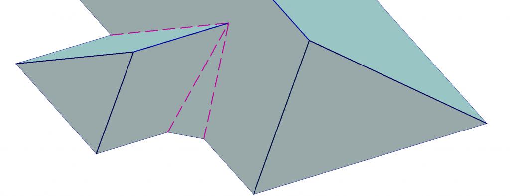 flat plane hip gable 1