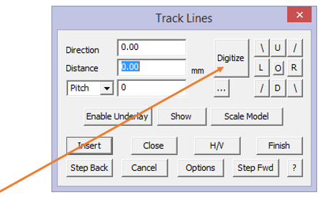 track lines