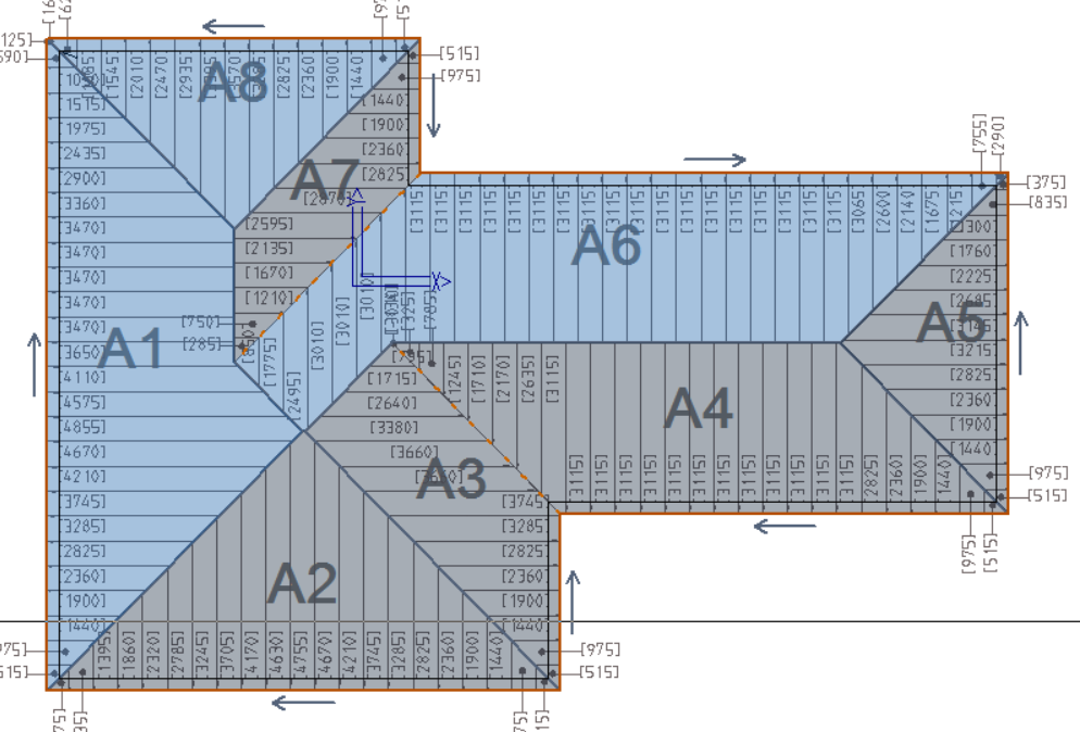 This image shows the model with panels in AppliCad Roof wizard https://www.applicad.com
