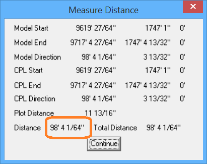 This image shows the Measure Distance in AppliCad Roof Wizard https://www.applicad.com
