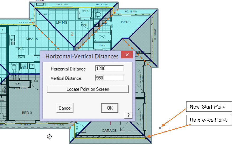 This image shows the Track outline in AppliCad Roof Wizard https://www.applicad.com