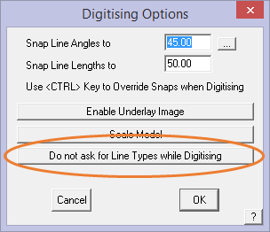 This image shows the Digitising options menu in AppliCad Roof Wizard https://www.applicad.com