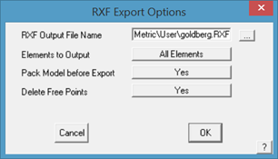 This image shows the RXF Export in AppliCad Roof Wizard https://www.applicad.com
