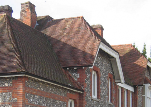 This image shows a tiled roof in AppliCad Roof Wizard https://www.applicad.com