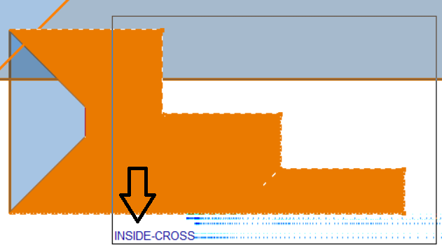 This image shows an example of the delete function in AppliCad Roof Wizard https://www.applicad.com