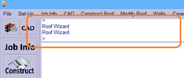This image shows the top bar in AppliCad Roof Wizard https://www.applicad.com