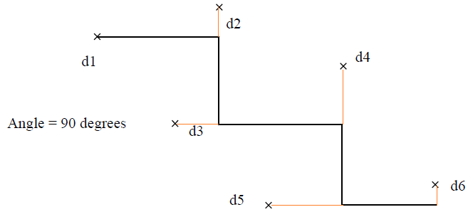 This image shows an example of adjoining lines at a specified angle in AppliCad Roof Wizard https://www.applicad.com