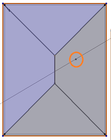 This image shows the cut line function in AppliCad Roof Wizard https://www.applicad.com