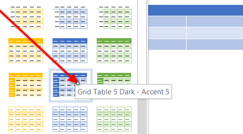 This image shows the Tables in AppliCad Roof Wizard https://www.applicad.com