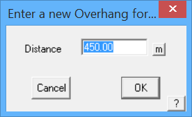 This image shows the over hang menu in AppliCad Roof Wizard https://www.applicad.com