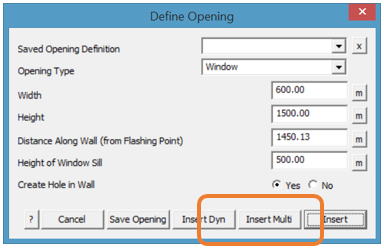 This image shows the Define Opening in AppliCad Roof Wizard https://www.applicad.com