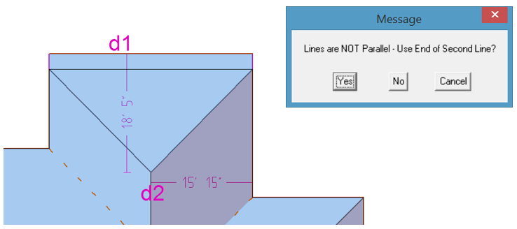 this image shows dimensions function in AppliCad Roof Wizard https://www.applicad.com
