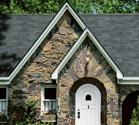 This image shows an example of a Split Gable in AppliCad Roof Wizard https://www.applicad.com