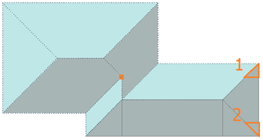 This image shows how to do a Split Plane Mirror in AppliCad Roof Wizard https://www.applicad.com