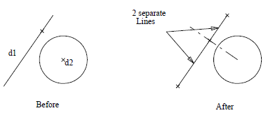 This image shows an example of line divides in AppliCad Roof Wizard https://www.applicad.com