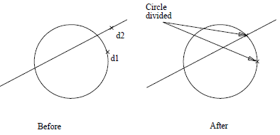 This image is an of Circle divide in AppliCad Roof Wizard https://applicad.com