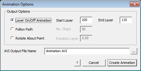 This image shows the Animation Options menu https://www.applicad.com