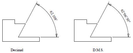 This image shows an example of Angle Display in AppliCad Roof Wizard https://www.applicad.com