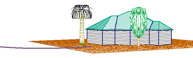 This image shows a 3D model in AppliCad Roof Wizard https://www.applicad.com