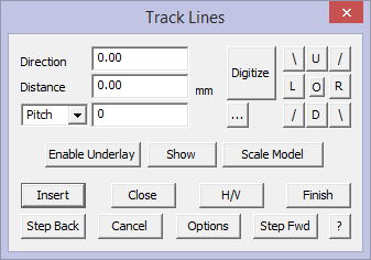 This image shows the Track lines menu in AppliCad Roof Wizard https://www.applicad.com