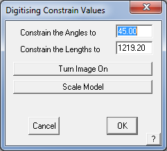 This image shows the Digitising constrain Values menu in AppliCad Roof Wizard https://www.applicad.com