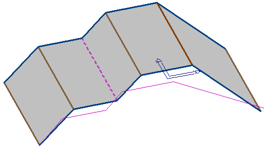 This image shows a section roofs in AppliCad Roof Wizard https://www.applicad.com