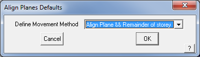 This image shows the Align Planes menu in AppliCad Roof Wizard https;//www.applicad.com