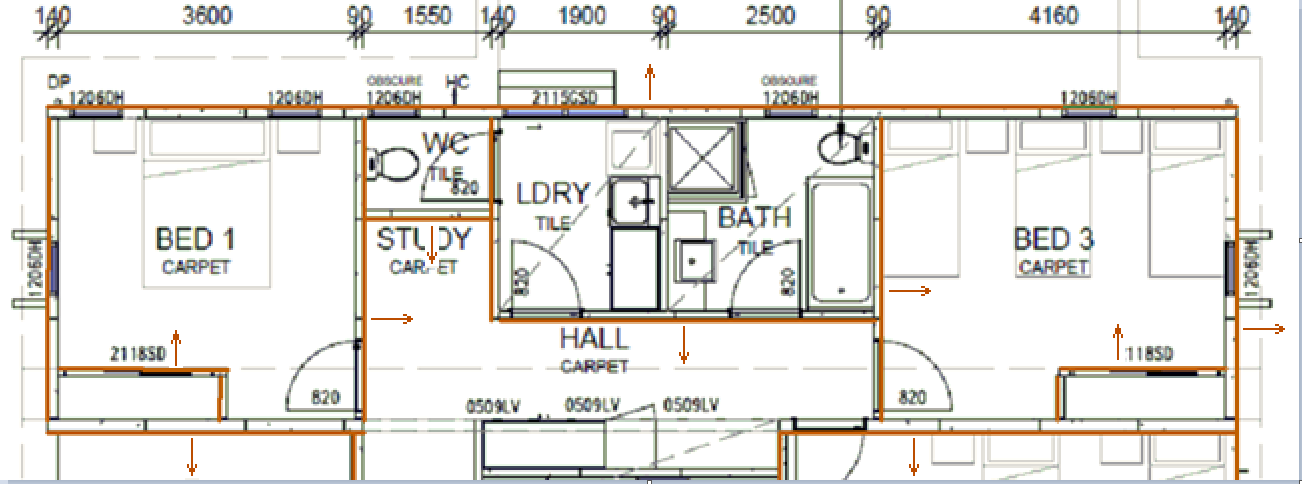 This image shows the Drawing the walls feature in AppliCad Roof Wizard https://www.applicad.com