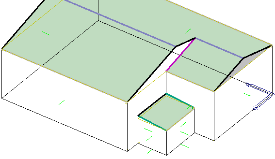 this image shows how to Show and Hide walls in AppliCad Roof Wizard https://www.applicad.com