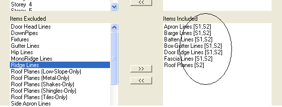 This image shows the Stage management menu in AppliCad Roof Wizard htpps://www.applicad.com