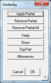 This image shows the underlay menu in AppliCad Roof Wizard https://www.applicad.com