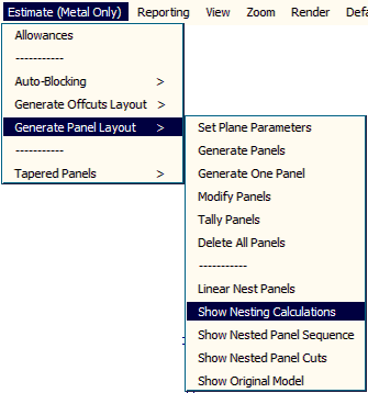 this image shows Gen-Panels 'Show' function in AppliCad Roof Wizard https://www.applicad.com