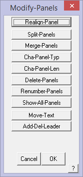 This image shows the modify panels box in AppliCad Roof Wizard https://www.applicad.com