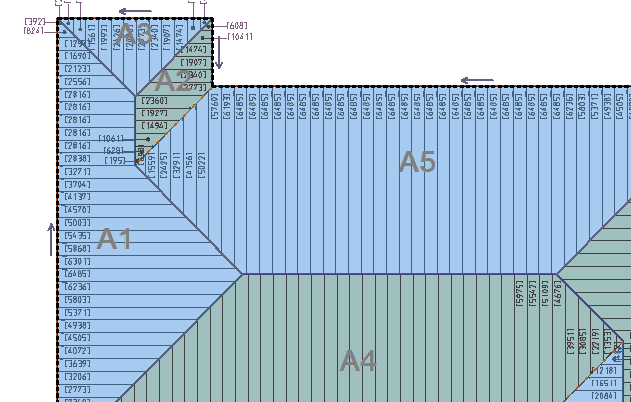This image shows the sections with the panels in AppliCad Roof Wizard https://www.applicad.com