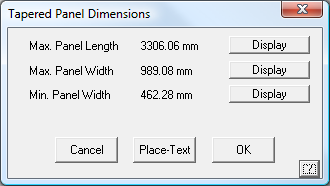 This image shows the Tapered panel dimensions in AppliCad Roof Wizard https://www.applicad.com