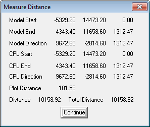 This image shows the measure distance menu in AppliCad Roof Wizard https://www.applicad.com